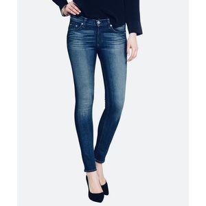 Zara Z1975 Blue Denim Skinny Jeans Size 4
